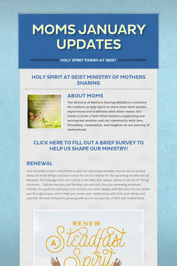 MOMS January Updates