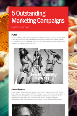 5 Outstanding Marketing Campaigns
