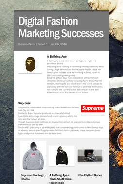 Digital Fashion Marketing Successes