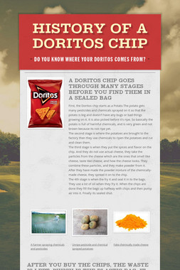 History of a Doritos Chip