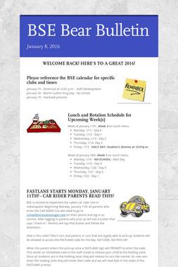 BSE Bear Bulletin