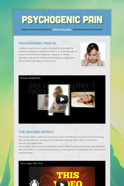 Psychogenic Pain