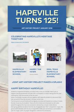 Hapeville Turns 125!