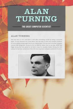 Alan Turning