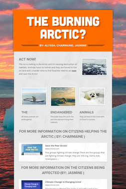 The Burning Arctic?