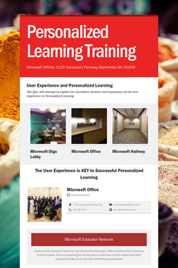 Personalized Learning Training