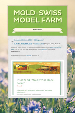 Mold-Swiss Model Farm
