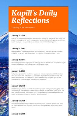 Kapill's Daily Reflections