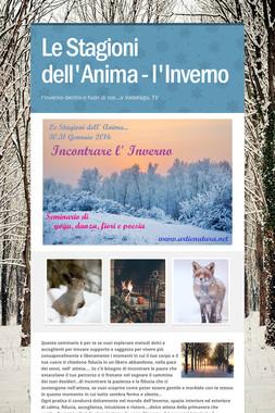 Le Stagioni dell'Anima - l'Inverno