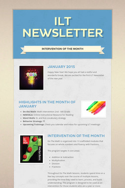 ILT Newsletter