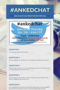 #ankedchat