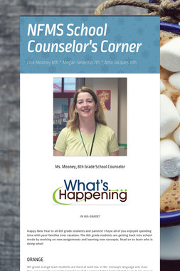 NFMS School Counselor's Corner