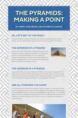 The Pyramids: Making a Point