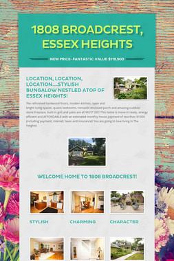 1808 Broadcrest, Essex Heights
