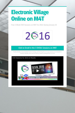 Electronic Village Online on M4T