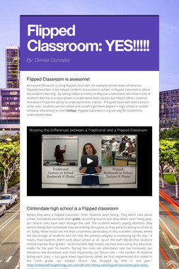 Flipped Classroom: YES!!!!!