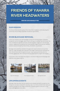 Friends of Yahara River Headwaters