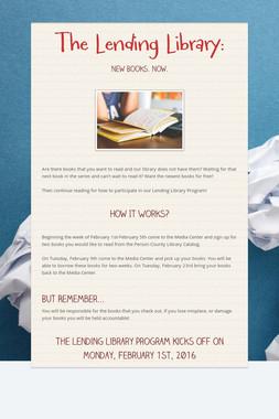 The Lending Library: