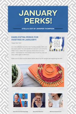 January Perks!