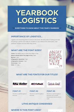 Yearbook Logistics