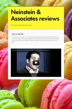 Neinstein & Associates reviews