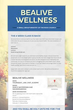 BeAlive Wellness