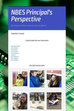NBES Principal's Perspective