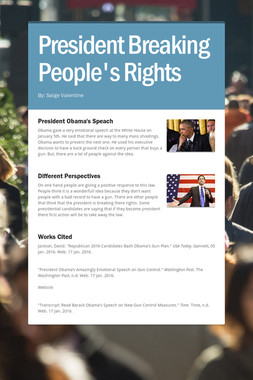President Breaking People's Rights