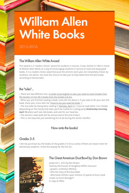 William Allen White Books