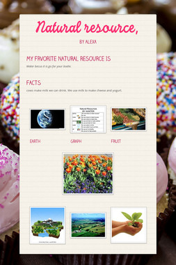 Natural resource,