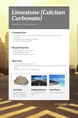 Limestone (Calcium Carbonate)
