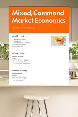 Mixed,CommandMarket Economics