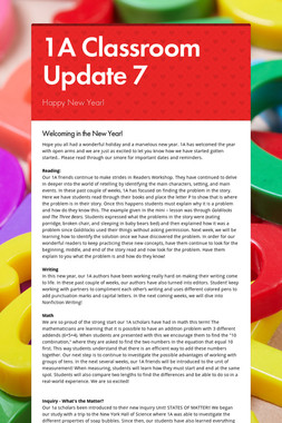 1A Classroom Update 7