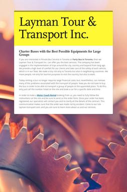 Layman Tour & Transport Inc.