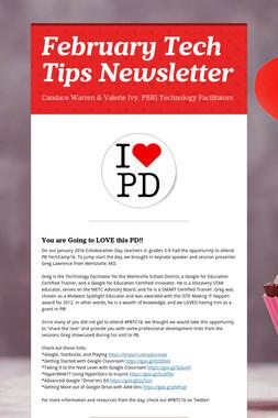 February Tech Tips Newsletter