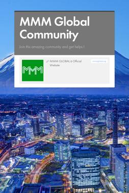 MMM Global Community