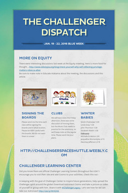 The Challenger Dispatch