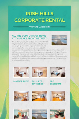 Irish Hills Corporate Rental