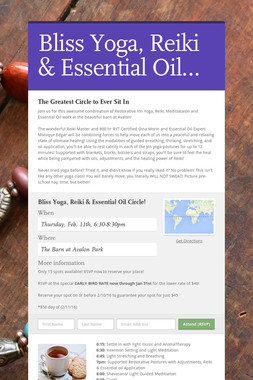 Bliss Yoga, Reiki & Essential Oil…