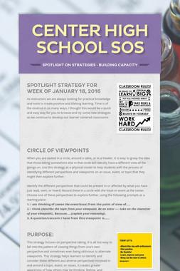 Center High School SOS