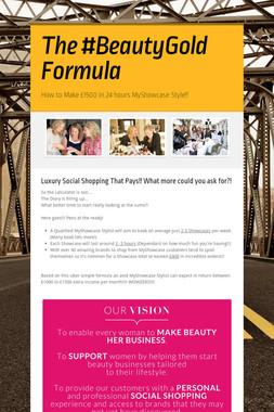 The #BeautyGold Formula