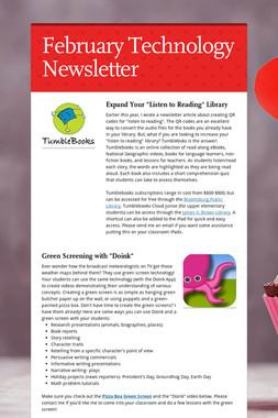 February Technology Newsletter