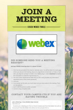 Join A Meeting