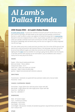Al Lamb's Dallas Honda