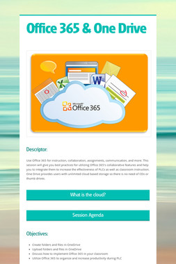 Office 365 & One Drive