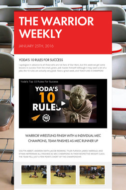 THE WARRIOR WEEKLY