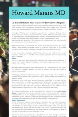 Howard Marans MD