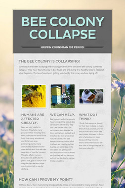 Bee Colony Collapse
