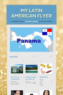 My Latin American Flyer