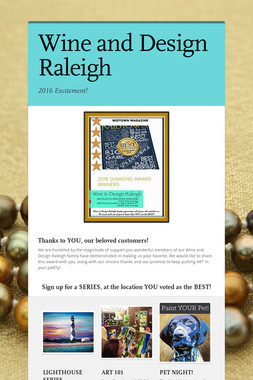 Featured flyers smore for Paint and wine raleigh